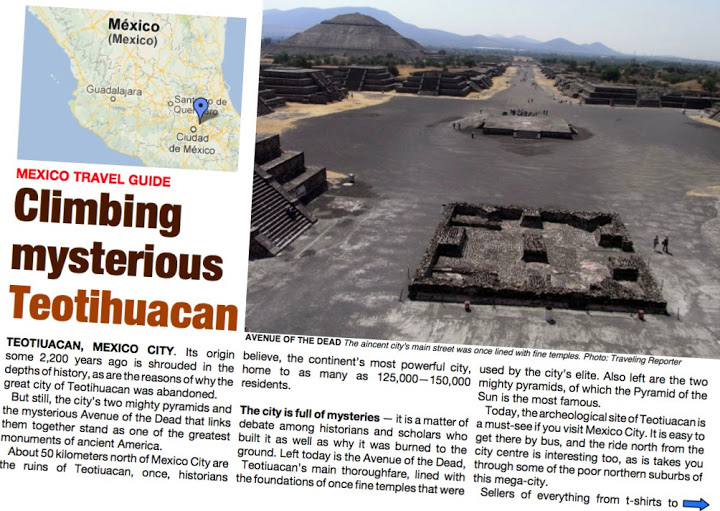 PDF GUIDE: Mexico – the mysterious Teotihuacan