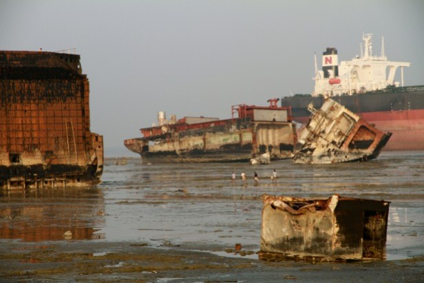Ship breaking yard Chittagong