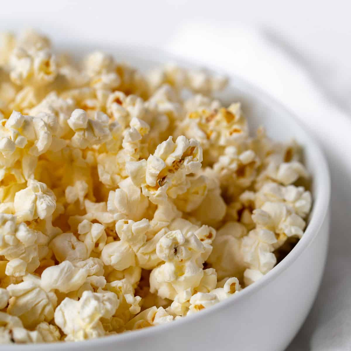 air popped microwave popcorn