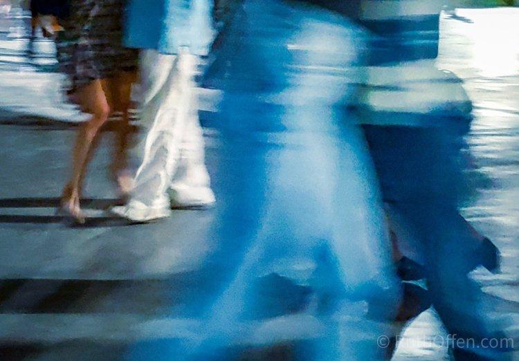 Dancing Social Tango
