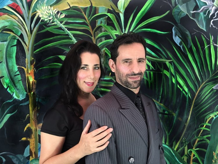 Pablo & Florencia photo courtesy artists.