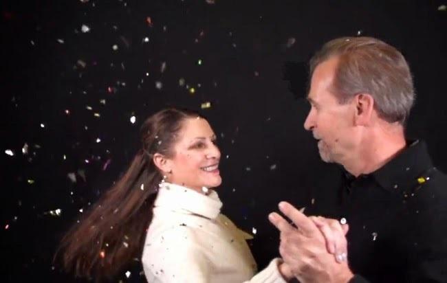 Michelle dancing with her favorite partner her husband Dr Richard Baxter