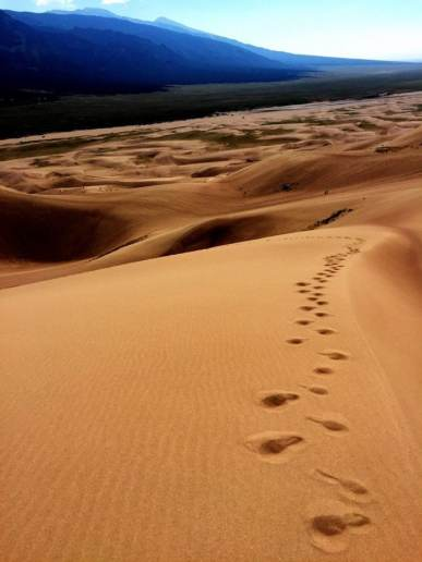 Great Sand Dune National Park in Colorado, USA