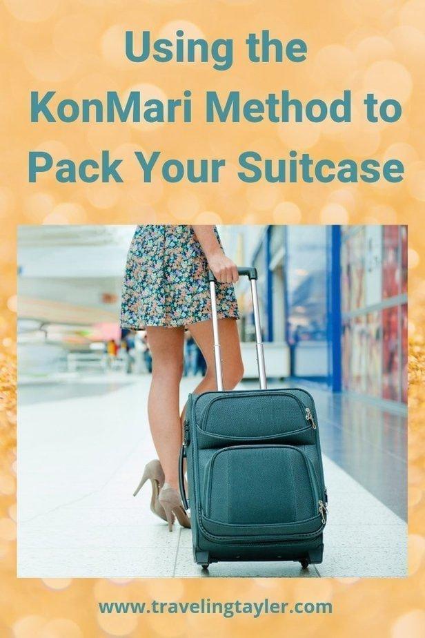 Pack Your Suitcase Using the KonMari Method
