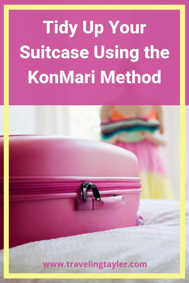 Tidy Your Suitcase Using the KonMari Method