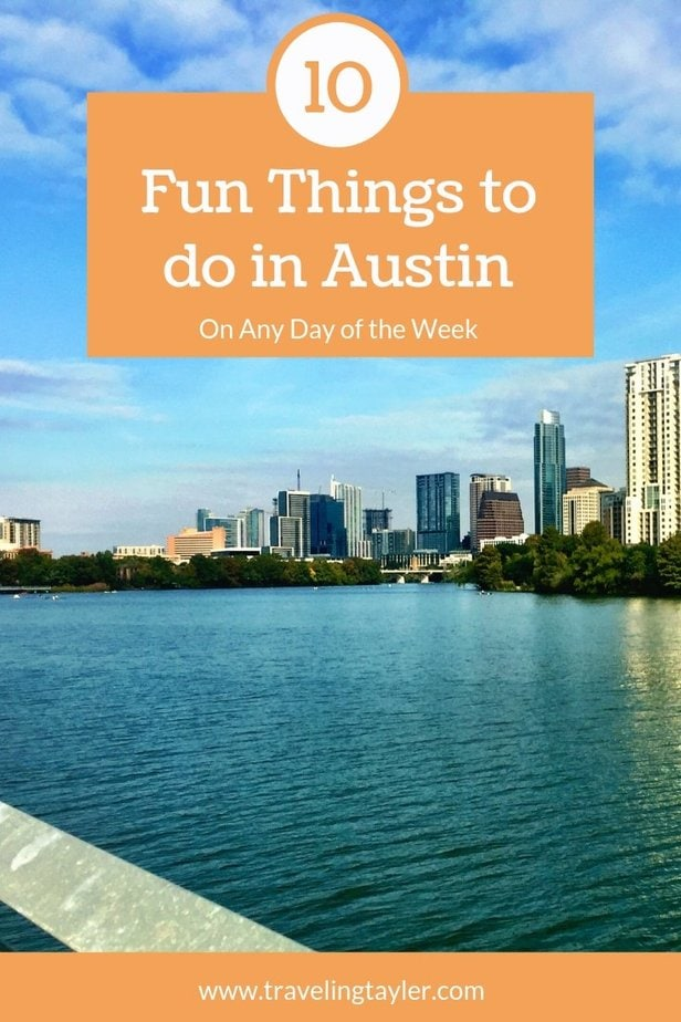 10 Fun Things to do in Austin on Any day of the week