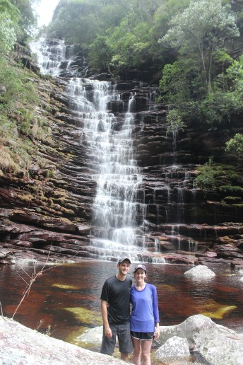 Day 1 Waterfall (Pre-Climb)