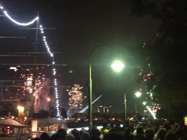 NYE Fireworks in Puerto Modero