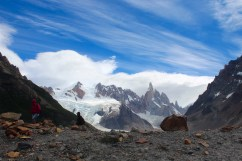 End of Hike at Cerro Torre
