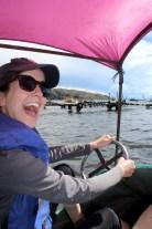 Paddle Boating on Lake Titicaca