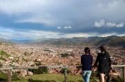 Lookout Point Over Cusco Near Saksaywaman