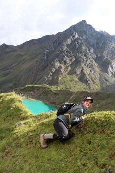 Post-Steep Climb to Glacier & Lake