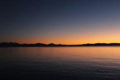 Sunset Sailing on Lake Taupo
