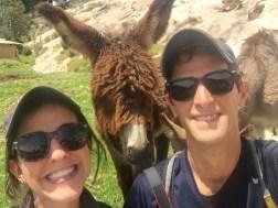 Donkey Selfies on Isla Del Sol