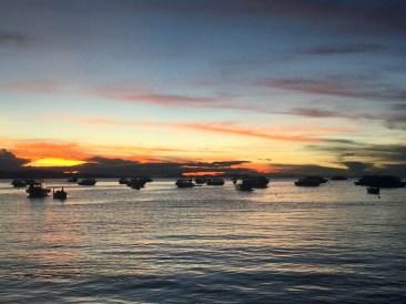 Sunset Across Lake Titicaca