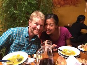 Lunch at El Encuentro with Dom & Susan