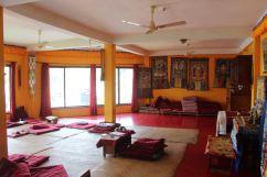 Yoga & Meditation Room at the Buddhism Retreat