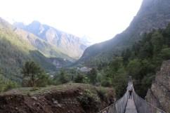 Bridge Enroute to Namche Bazaar (Day 2)