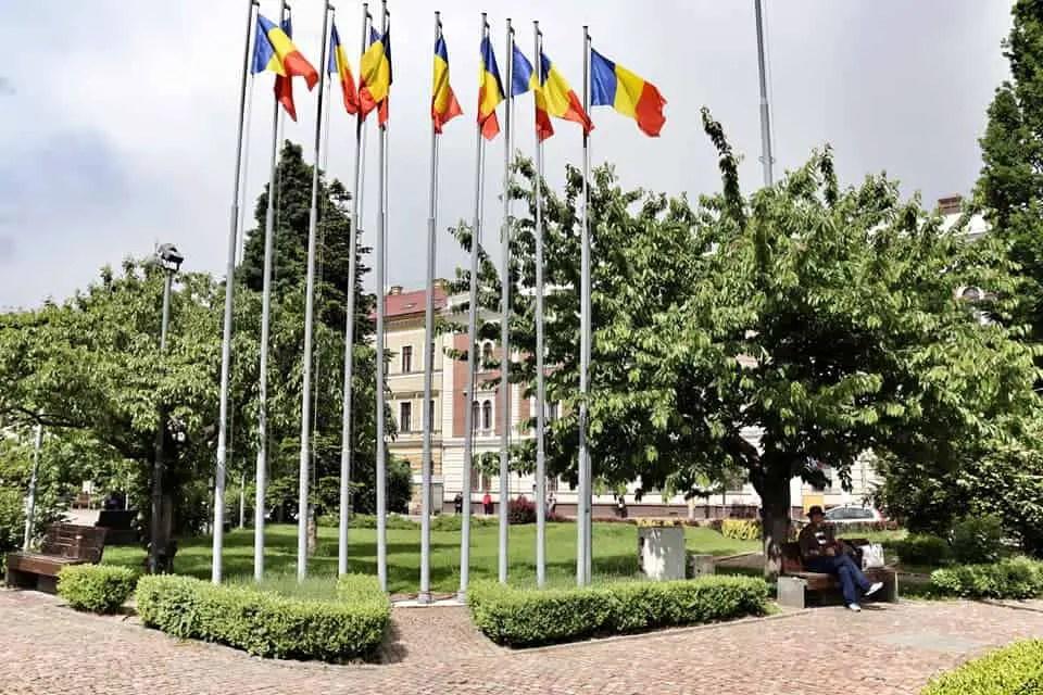 Piata Avram Iancu in CJ, Romania