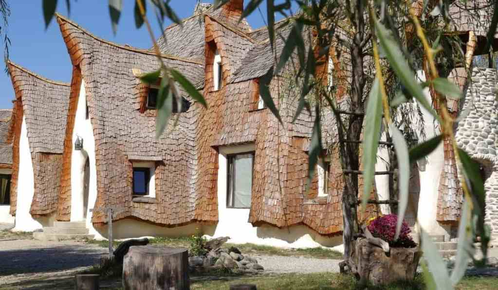 Castelul de Lut, the Clay Castles in Romania (Transylvania).