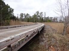 Wooden roadway