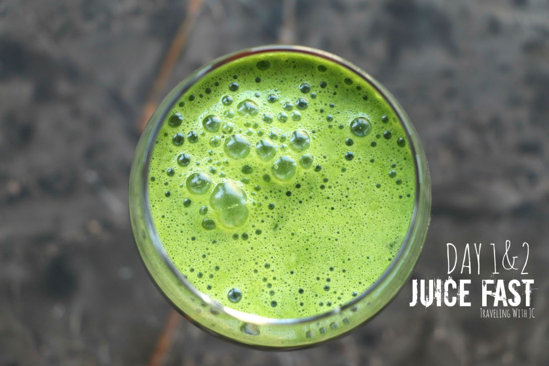 Juice Fast #2: Day 1&2