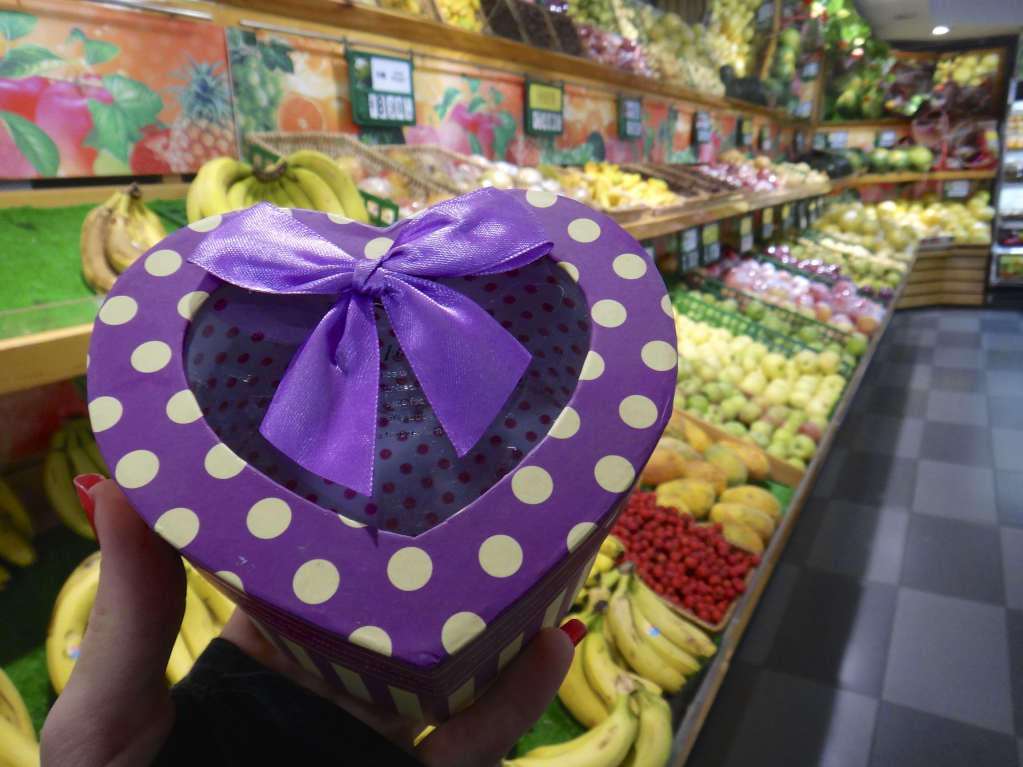 China Groceries: Fruit Gift Boxes