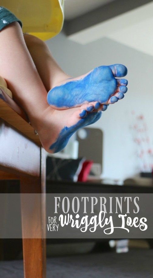 Footprints Wriggly Toes