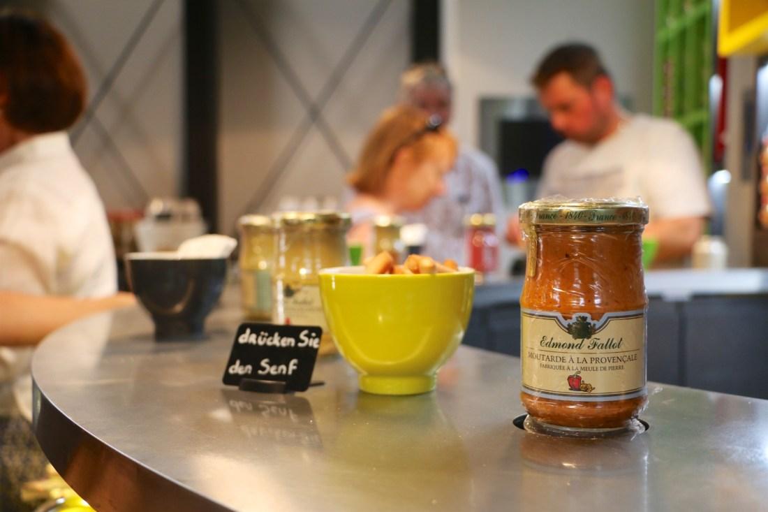 Mustard Tasting in Dijon, France