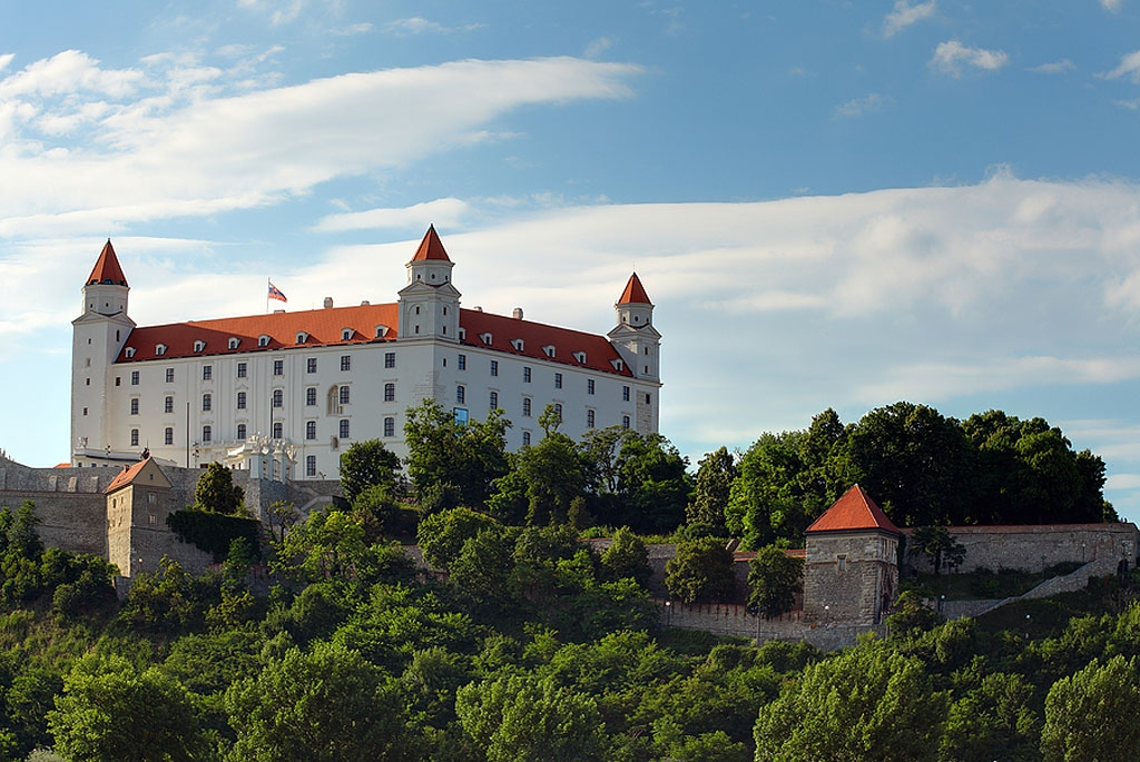 The Castle on a Hill │Bratislava Castle