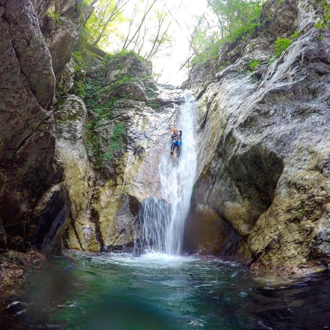 Canyoning in Susec Slovenia Check out our recent blog posthellip