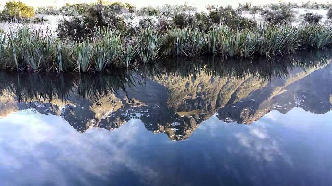 Reflections of The Remarkables South Island New Zealand  hellip