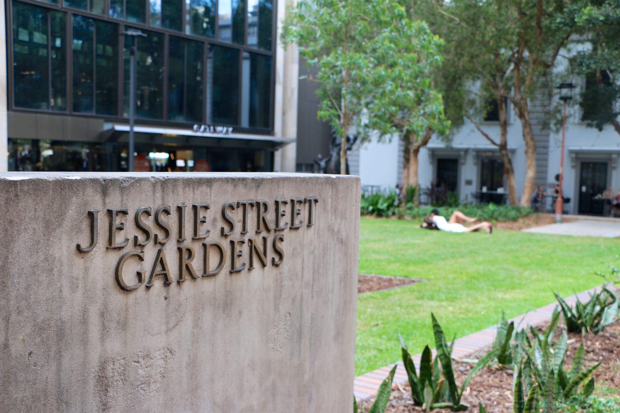 Jessie Street Gardens│Sydney