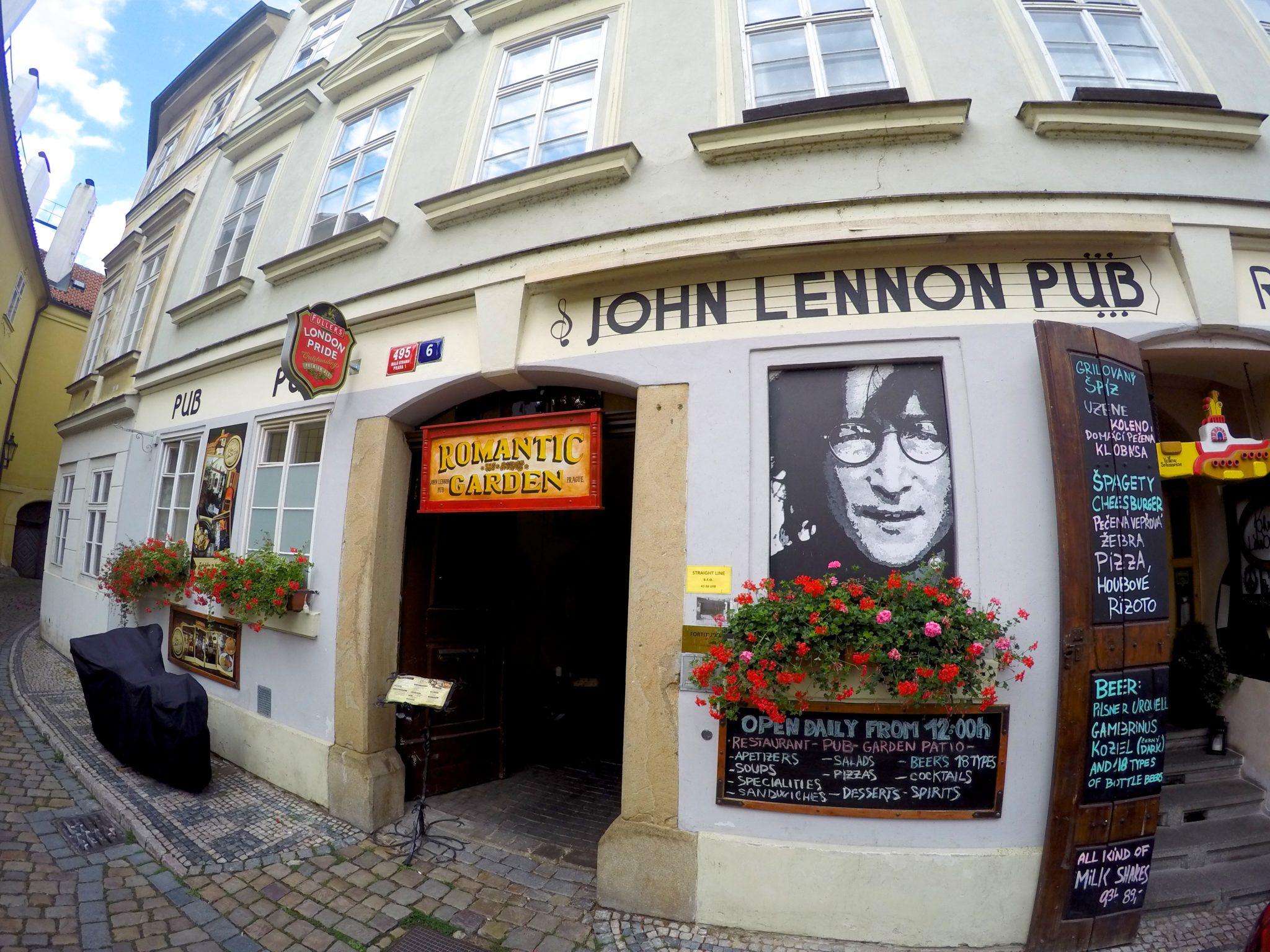 John Lennon Pub Prague