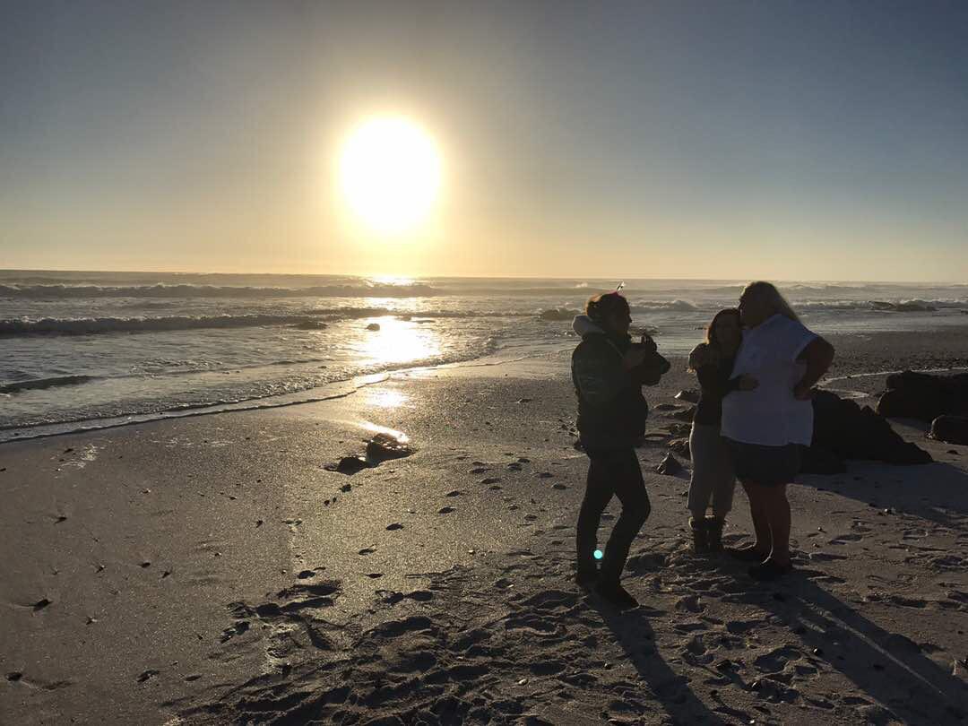 Behind the Scenes: Beach Shoot