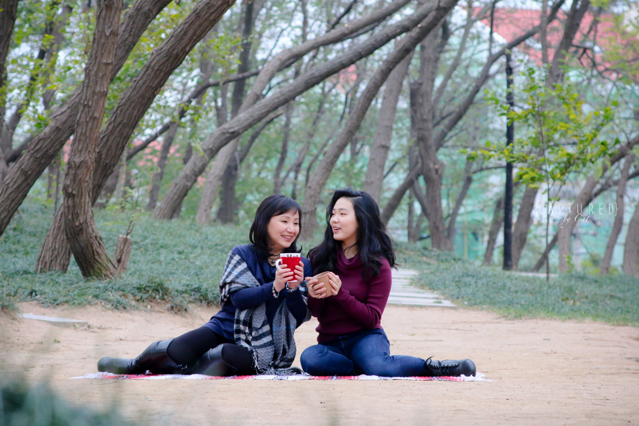 Yu Mother & Daughter Shoot │ Qingdao - CAPTURED by Cat