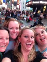 4 of us in times square