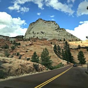 East Side of Zion National Park-Mt. Caramel Highway