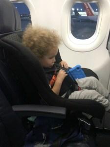 Cosco Nextera on Spirit Airlines
