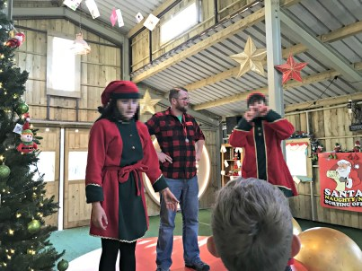 Rathwood, Elf Sorting Center, Santa Train, Co. Wicklow, Ireland