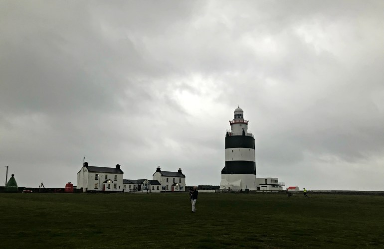 Grounds in front of the Hook Head Lighthouse
