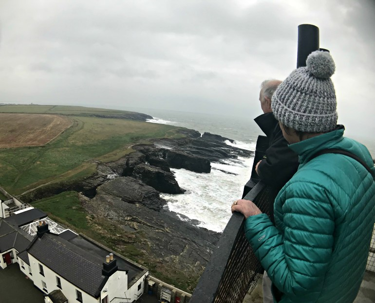 View from the top of the Hook Head Lighthouse