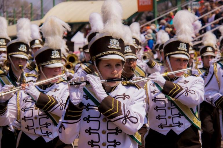 Tulip time for families, Muziekparade