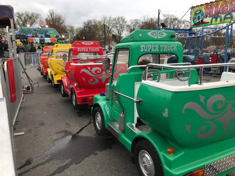Tulip time for families, carnival