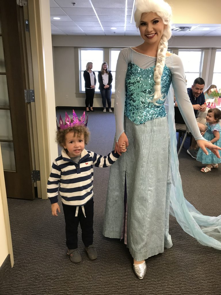 Tulip Time for families, Tulip Princess Tea Party with Princess Elsa