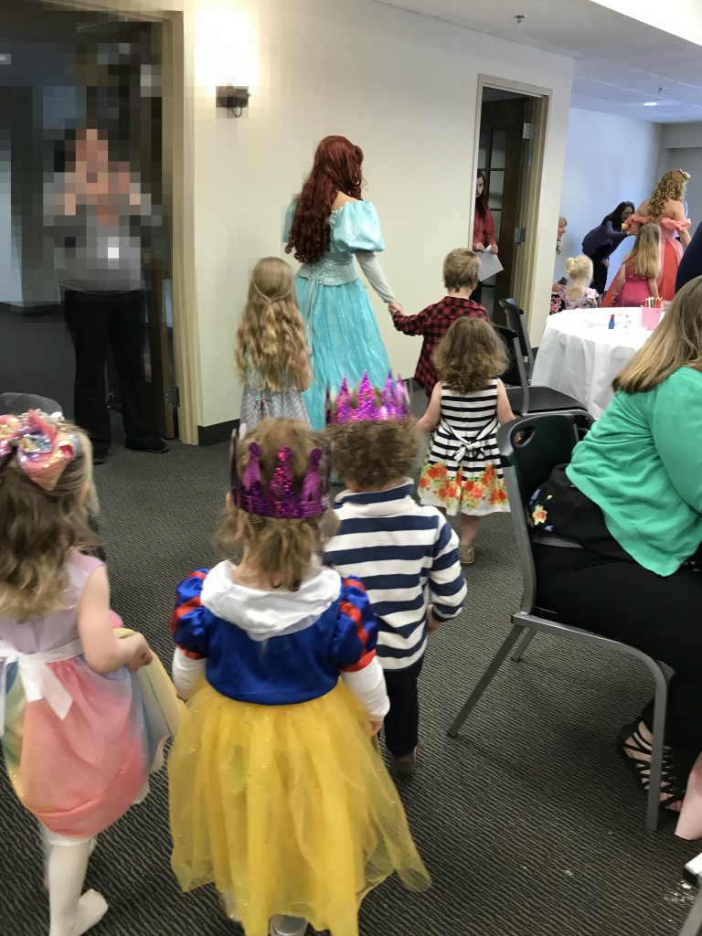 Tulip Time for families, Tulip Princess Tea Party Parade