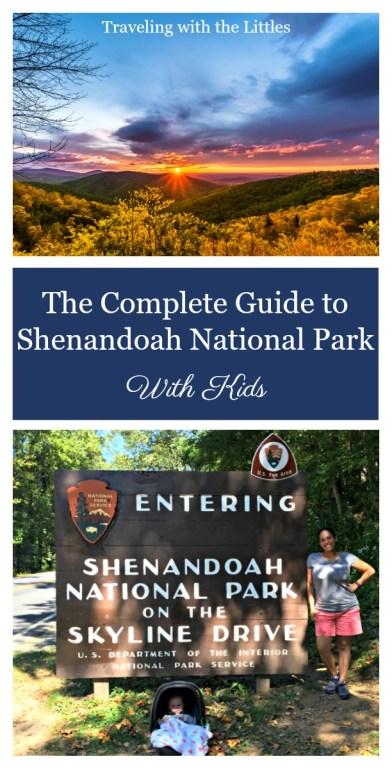 Shenandoah National Park with Kids Pinterest Image