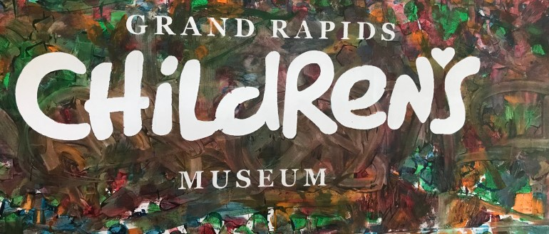 Grand Rapids Children's Museum sign