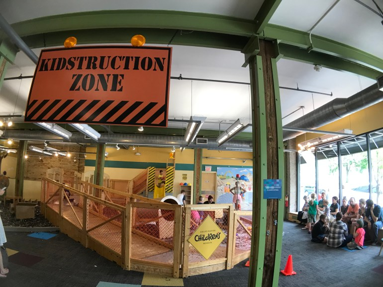 Kidstruction Zone at the Grand Rapids Children's Museum