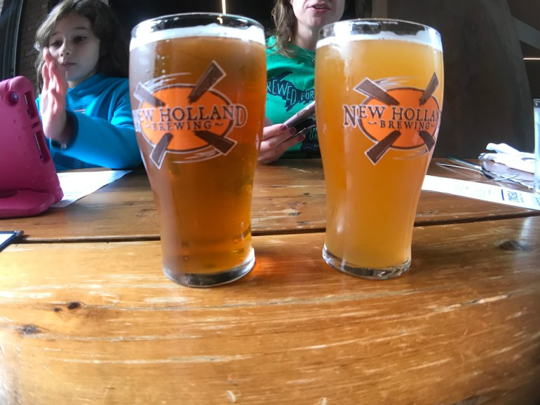 New Holland Brewery-Grand Rapids with Kids